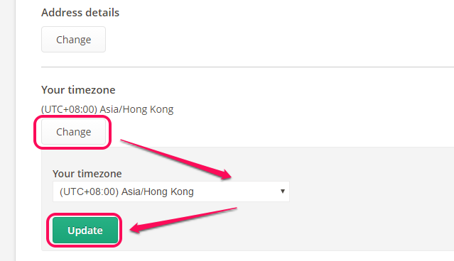 Basic Account Settings – Support